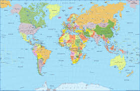 Map Of Caribbean Countries by Map Of The World All Countries Map