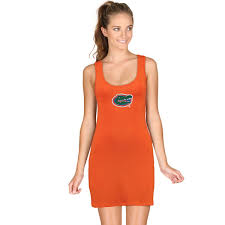 orange dress women s chicka d orange florida gators tank dress