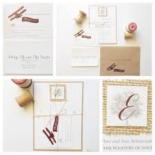 kerri efendi designs seattle wedding invitations