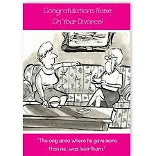 congratulations on your divorce card divorce greeting cards divorce spacehippocards