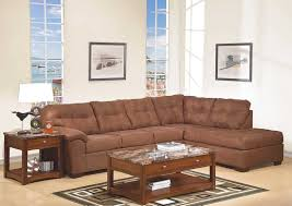 Suede Sectional Sofas Pillow Arm Espresso Microfiber Sectional Sofa By Simmons Sofa By