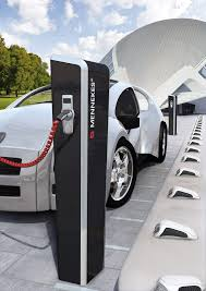 Recharge Station Mennekes Plugs For The World Intelligent Charging Stations As