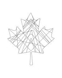 10 000 pages canadian maple leaf colouring 5800