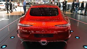 mercedes amg gt concept mercedes amg gt concept has 805 hybrid horses and four doors