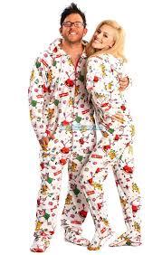 santa baby hooded footed pajamas features hoodie thumb holes