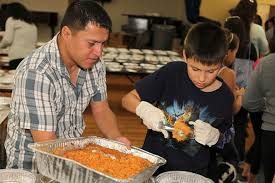 thanksgiving volunteering opportunities with in l a
