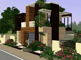 sims 3 small modern house plan best house design nice sims 3