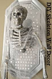 halloween skeleton jokes diy skeleton halloween frame wall decor tutorial