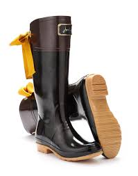 womens boots joules joules womens premium welly black are you feeling splashy go