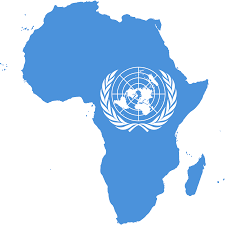 Picture Of Un Flag File Flag Map Of Africa United Nations Png Wikimedia Commons