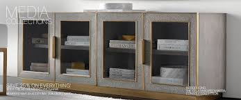 Metal Media Cabinet Media Collections Rh Modern