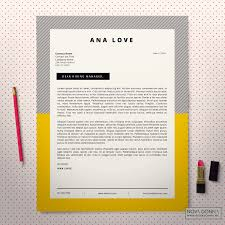 Resume Format For Jobs In Singapore by Resume Template Cv Template Design Cover Letter Modern Pop