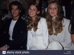 niki taylor with krissy taylor and joey lawrence at seventeen