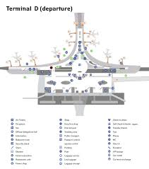 Miami International Airport Terminal Map by Sheremetyevo Aeroflot