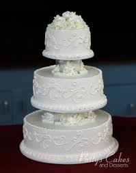 photo of a wedding cake icing flowers patty u0027s cakes and desserts