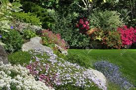 Rock Garden Perennials by Flowering Rock Garden In Spring More Images Of This Award Winning