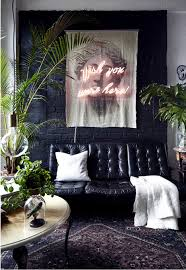 industrial loft with a touch of gothic elle decoration