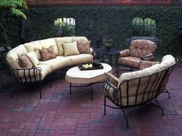 wrought iron deep seating patio furniture sets patio furniture