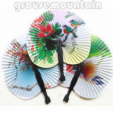 held folding fans held paper fans ebay