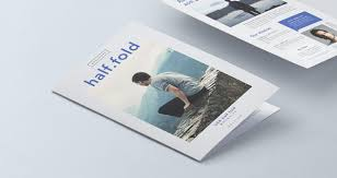 8 5 x11 brochure template half fold psd 8 5x11 inch mockup psd mock up templates pixeden