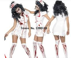 Halloween Costumes Nurse Shop Lady Halloween Scary Bloody Mary Nurse Costumes