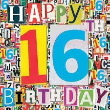 16th birthday card alanarasbach com