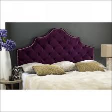 bedroom amazing king size fabric headboard grey upholstered