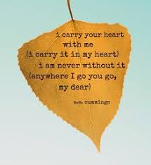 wedding quotes ee i carry you in my heart ee search odds ends