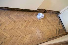 beech reclaimed parquet fitting in cross se14