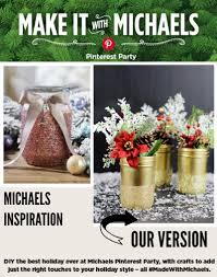 Vases At Michaels Gold Glittered Mason Jar Vases