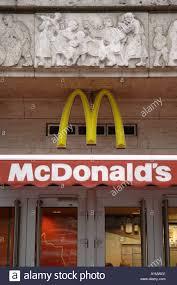 mcdonalds old new soviet mural american fastfood communism stock photo mcdonalds old new soviet mural american fastfood communism capitalism nove mesto praha 1 wall sign prague prag praha czech repu