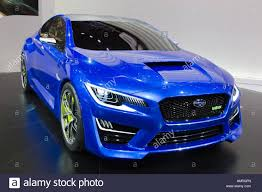 subaru concept cars frankfurt germany sep 13 subaru wrx concept car at the iaa