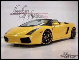 lamborghini gallardo superleggera yellow yellow lamborghini for sale in