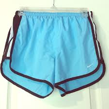 light blue nike shorts 50 off nike shorts running light blueblack poshmark