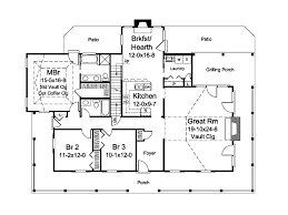 country farmhouse floor plans oakleigh country home plan 007d 0252 house plans and more