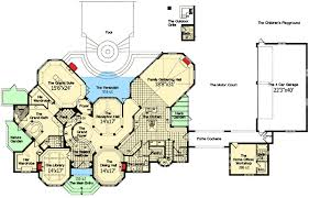 chateau floor plans chateau to call your own 63132hd architectural designs