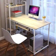 Cheap Office Desk Desk With Shelf Simple Home Office Cheap Computer Office Desk With