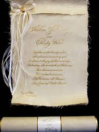 scroll wedding invitations scroll type wedding invitations casadebormela