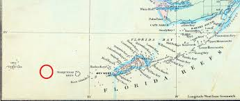 Map Of The Florida Keys Shipwreck Of The Atocha The Florida Memory Blog