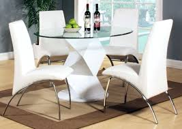 White Extendable Dining Table Milano Glass White Glass Extending Dining Table K2 White White