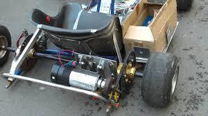 homemade truck go kart 1000 watt electric go kart homemade youtube