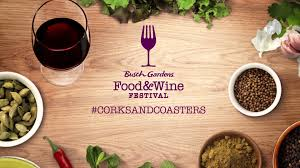 Busch Gardens Family Package Use Corksandcoasters At The Food U0026 Wine Festival Busch Gardens