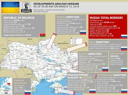 Map Of Ukraine And Crimea Ukraine Crisis Russian Military Intervention