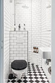 Small Black And White Tile Bathroom 25 Best Small Full Bathroom Ideas On Pinterest Tiles Design For