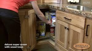 lazy susan base cabinet showplace kitchen convenience