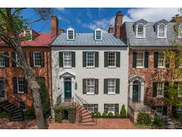 federal style georgetown wow house renovated federal style home from 1800s