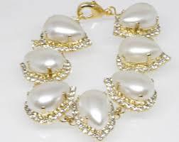 wedding bracelet pearl images Pearl bridal jewelry etsy jpg
