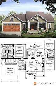 Craftsman Style Garage Plans by 42 Best House Plans 1500 1800 Sq Ft Images On Pinterest Small