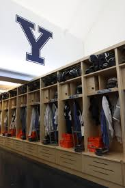 yale football locker room yale