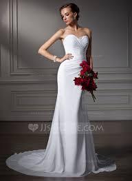 chiffon wedding dress trumpet mermaid sweetheart court chiffon wedding dress with